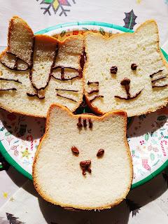 ねこの形の高級食パン♪ ねこねこ食パンがとっても可愛い~♡