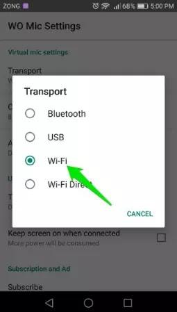 Cara Mengubah HP Android Menjadi Microphone untuk PC-4