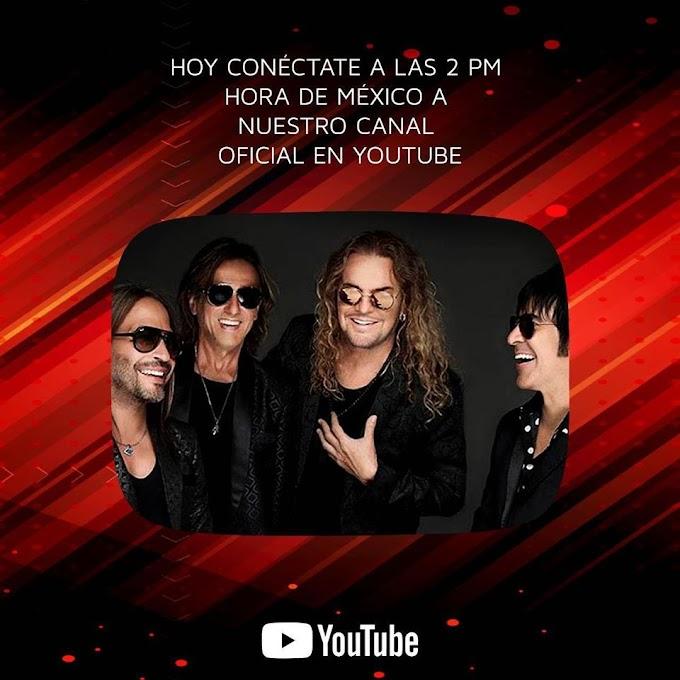 Maná en concierto online en su canal de Youtube