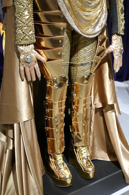 Lion costume legs detail Masked Singer