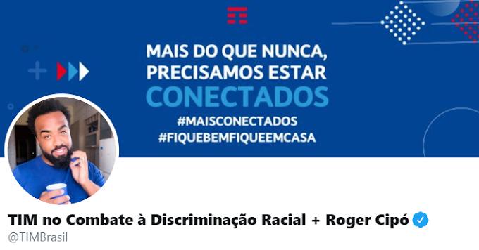 TIM cede seu twitter no Dia do Combate à Discriminação Racial