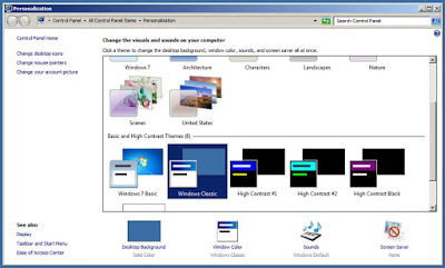Windows classic Win7