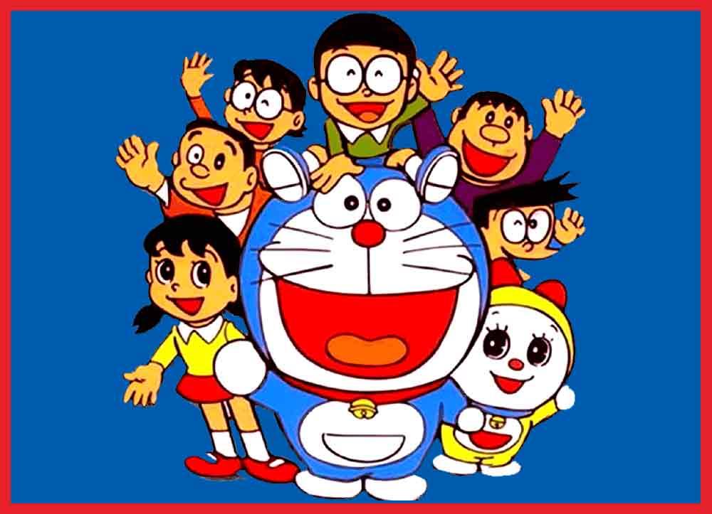 66 Gambar Kartun Doraemon (3D, Lucu, Sedih, Bahagia, Jatuh