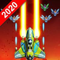 Jogo de naves de alienígenas para Android Com moedas infinitas