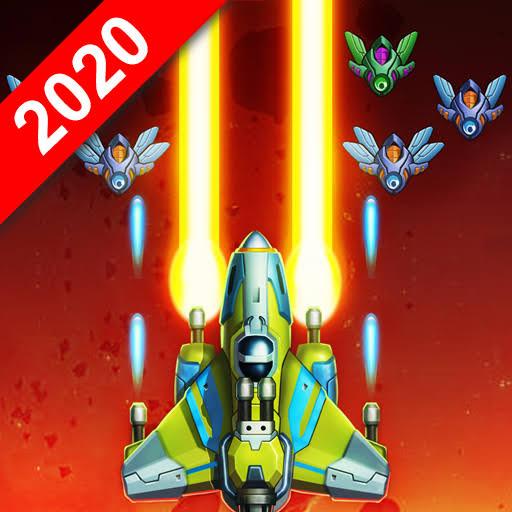 Galaxy Invaders: Alien Shooter v1.4.6 Apk Mod [Moedas Infinitas + Gemas]