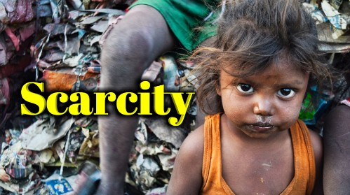 Explain the meaning of scarcity in detail