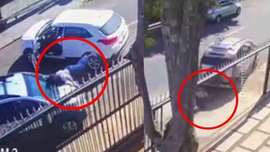 advogado preso atropelar mulher briga transito