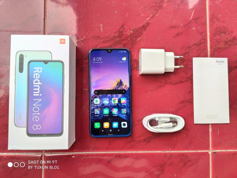 Paket Pembelian Xiaomi Redmi Note 8