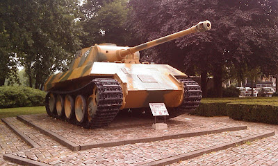 Panzerkampfwagen V ausf D Sd.Kfz. 171 Donated by the 1st Polish Armoured Division to Breda