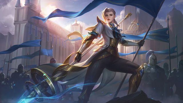 Silvanna Imperial Knightess Heroes Fighter of Skins ML HD Wallpapers