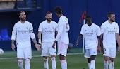 غيابات كثيرة في قائمة ريال مدريد لمواجهة فياريال
