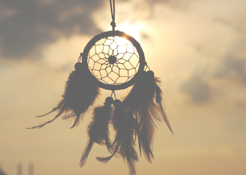 A dream catcher in a post about five easy ways to improve your life
