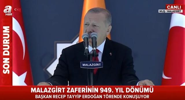 Εκτός κάθε ορίου ο εθνικιστής Ερντογάν