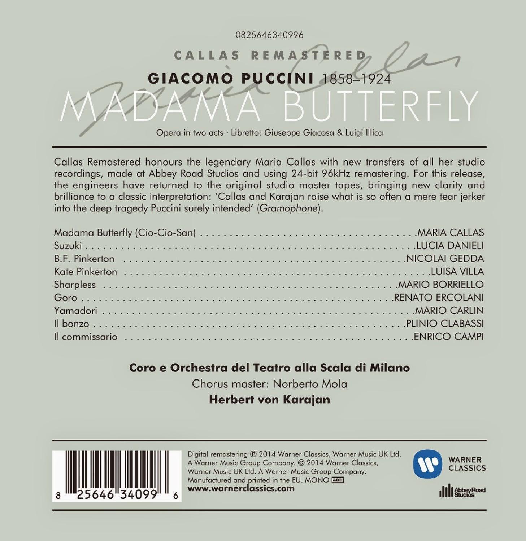 Diabolus In Musica: Callas Remastered - Puccini Madama