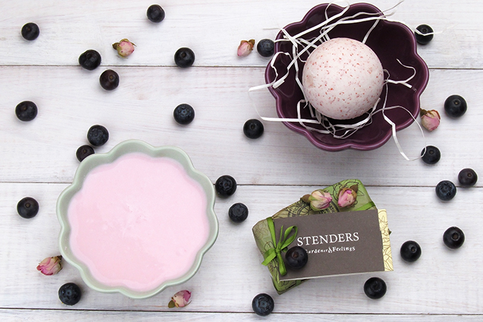 Yogurt and Wild Berries by Stenders