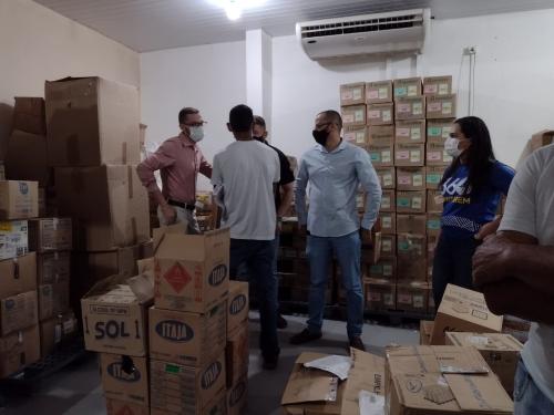 Medicamentos e insumos com prazo de validade vencidos são apreendidos em Santarém