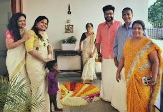 Rahul Nambiar Family Wife Parents children's Marriage Photos