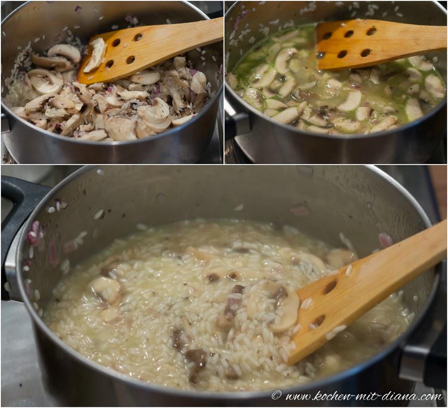 Risotto kochen
