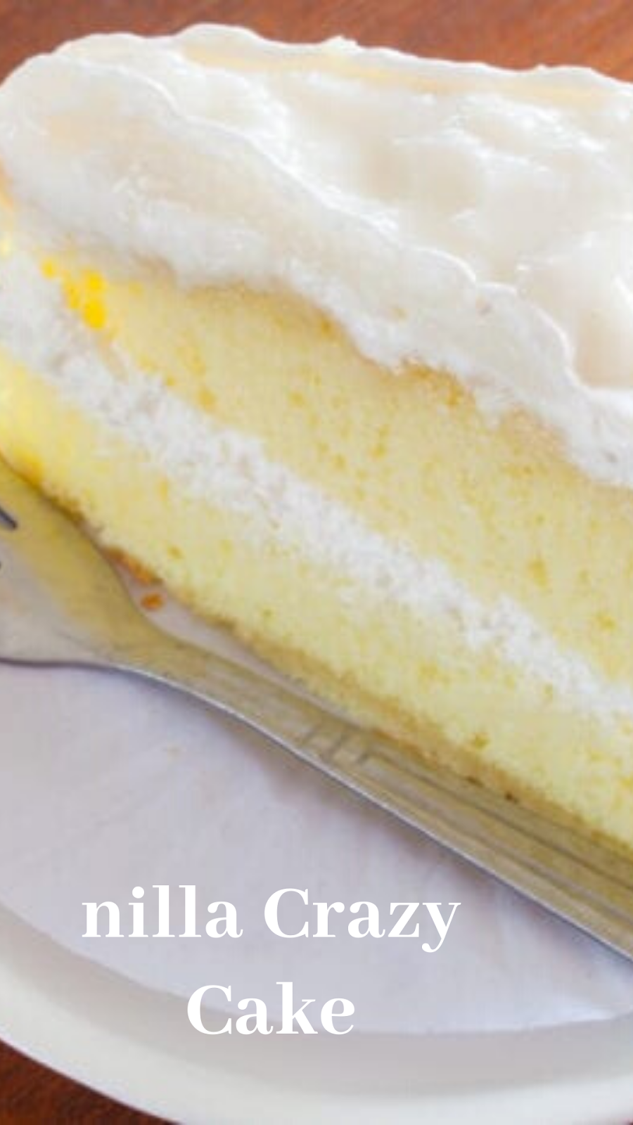 Vanilla Crazy Cake You Can Make With No Eggs, Milk, Or Butter