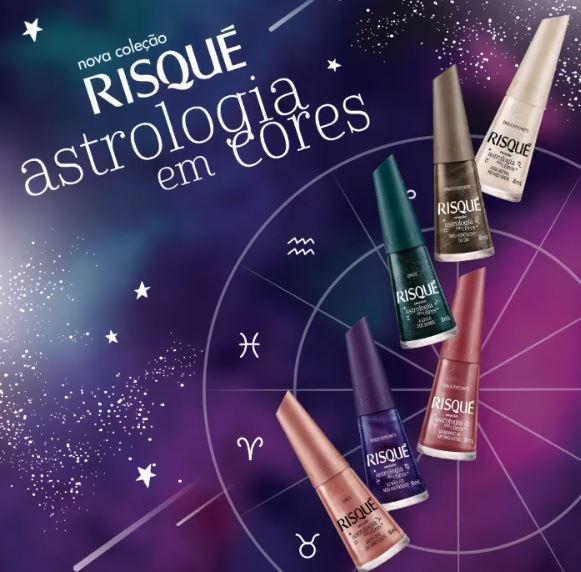 Coleção Astrologia em Cores Risqué