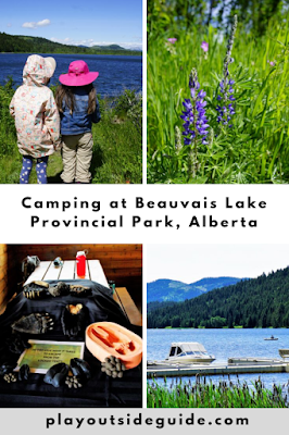 Camping at Beauvais Lake Provincial Park
