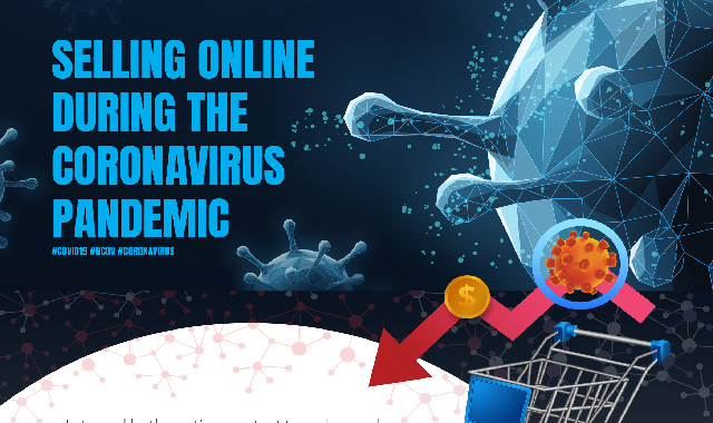 Selling Online During the Coronavirus Pandemic #infographic