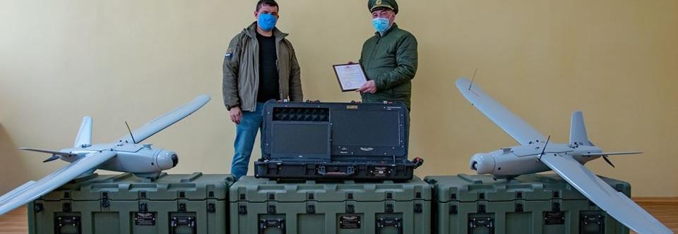 Навчальний центр ДПСУ отримав БпАК Лелека-100