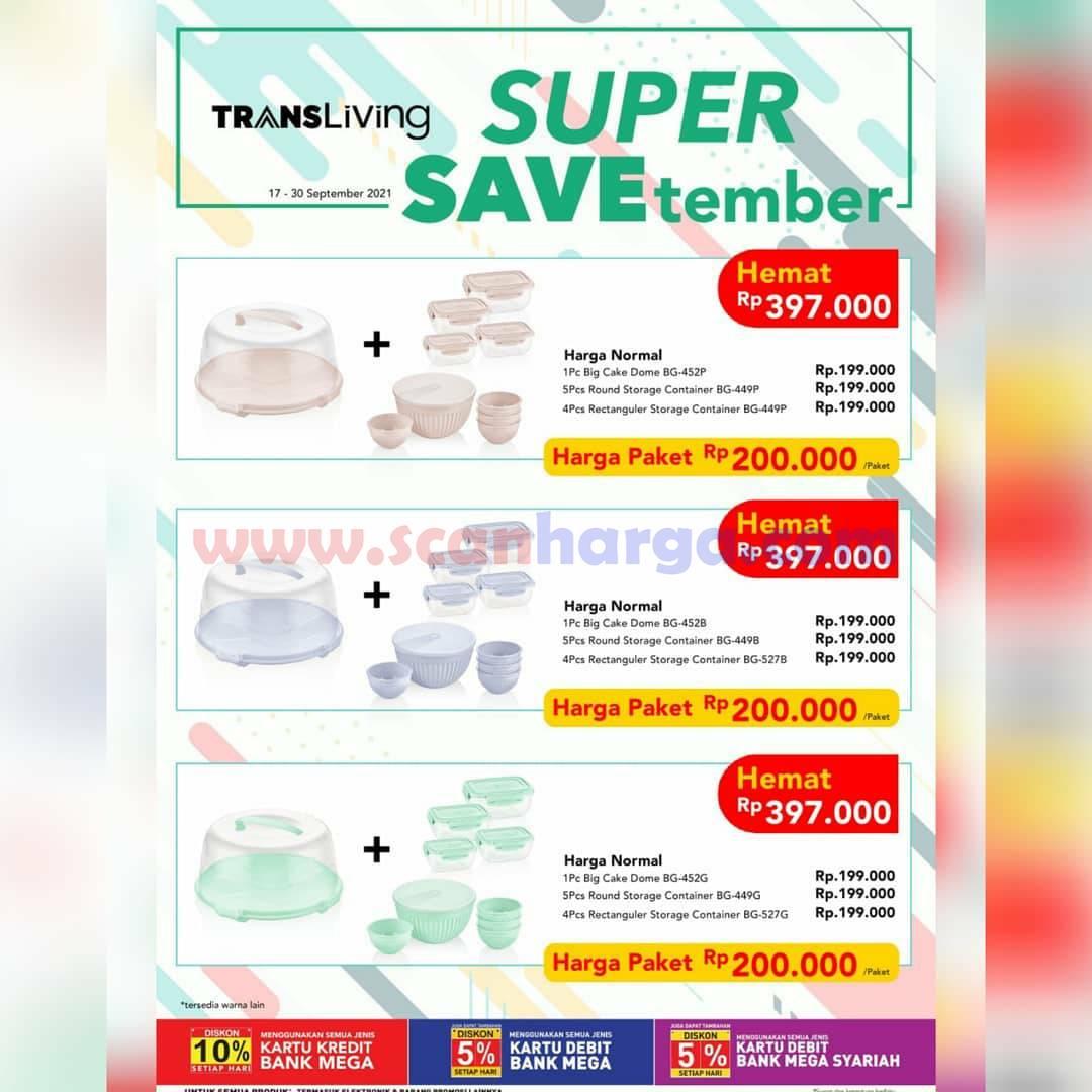 Carrefour Transmart Promo SUPER SAVEtember Periode 17-30 September 2021