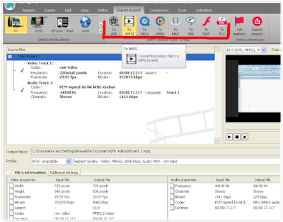 Cara Convert Video Dengan VSDC Video Editor 4