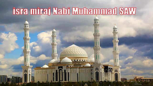 isra miraj Nabi Muhammad SAW