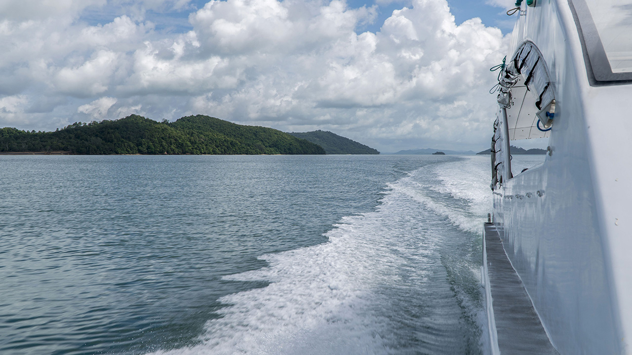 Andaman sea trip from Phuket to Racha Islands on the yacht