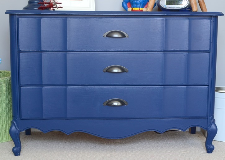 Navy Blue Bedside Table: The D. Lawless Hardware Blog: Wondering If You Should Use
