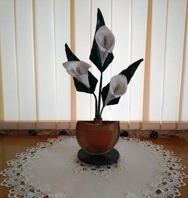 Ковані квіти кали