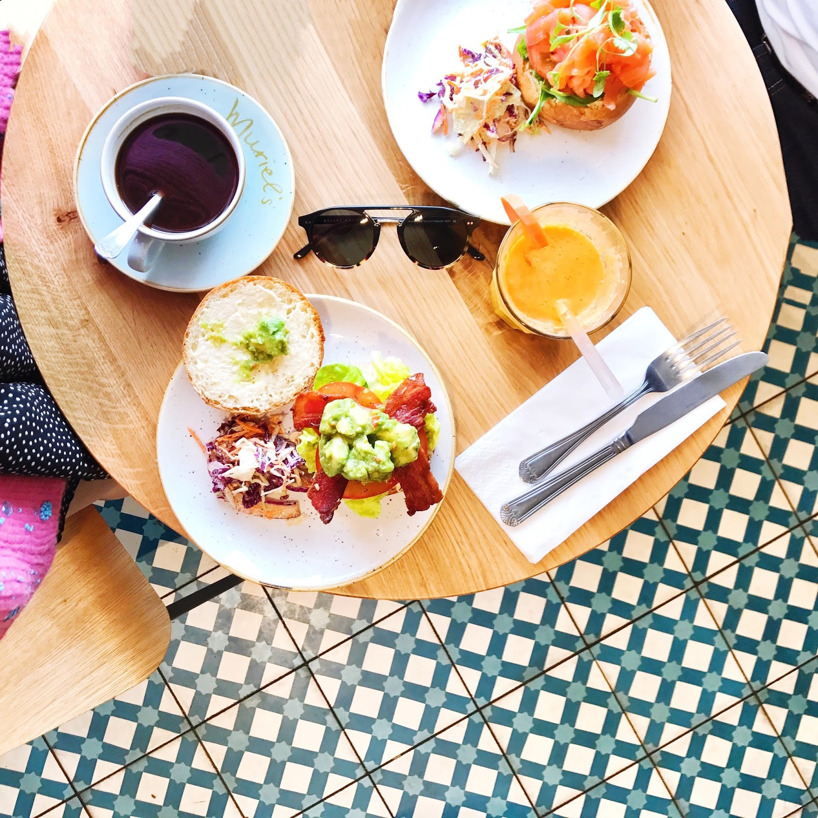 7 Instagram Perfect Brunch and Coffee Spots in London - Muriel's Kitchen