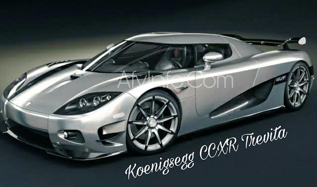 Mobil Koenigsegg CCXR Trevita