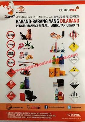 Inilah Barang Yang Dilarang Dikirim Melalui Paket Via Udara Di Kantorpos Dan Agenpos Www Infokantorpos Com