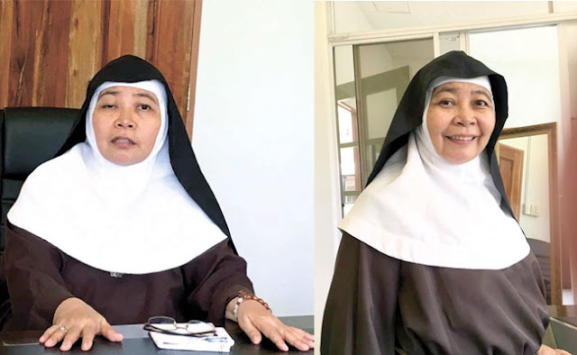 Mother Superior in Surigao Del Sur Claims To Have Experienced Miraculous Healing from The Late Archbishop Camomot. READ HERE!