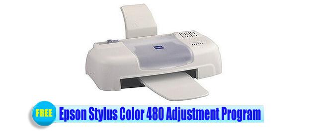 Epson Stylus Color 480 Adjustment Program