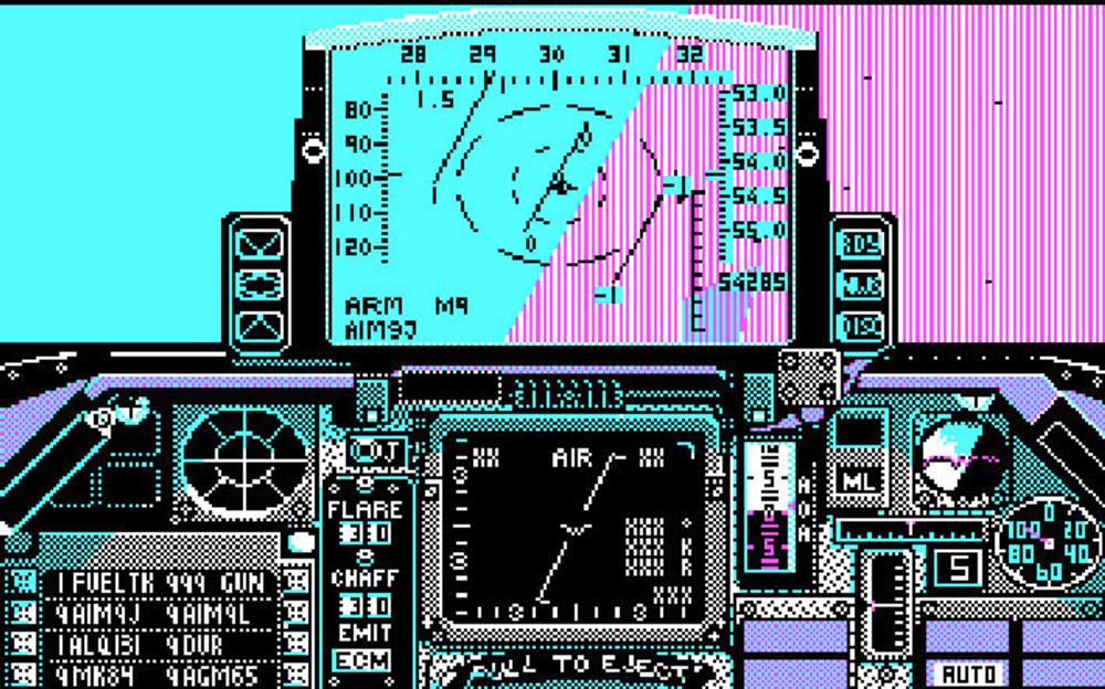Falcon Kokpit Görüntüsü