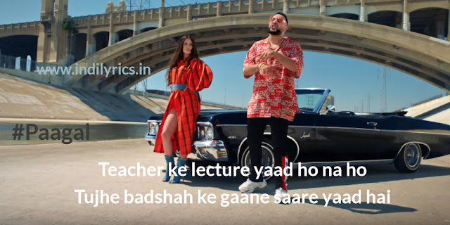 Paagal   Badshah with Playboy model Rose Romero   Lyrics   Quotes   Photos   Images