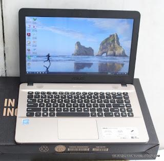 Jual Laptop Asus x441N Intel Celeron N3350 - Banyuwangi