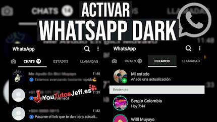 Activar Whatsapp Dark en Xiaomi con MIUI