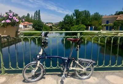 French Village Diaries World Bicycle Day 3 June 2019 #KTTinyTourer