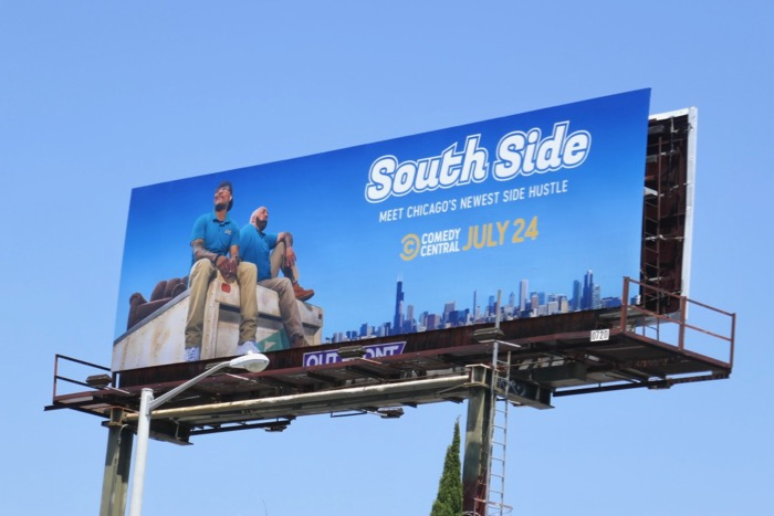 South Side series launch billboard