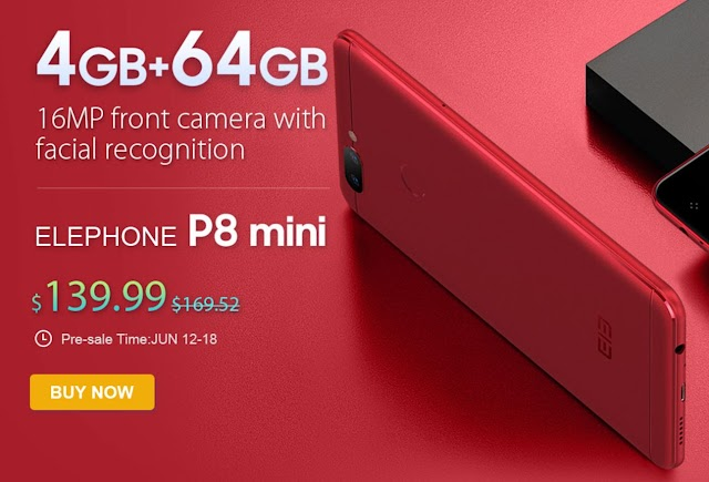 ¡Elephone P8 y P8 Mini en oferta en GearBest desde 125€!