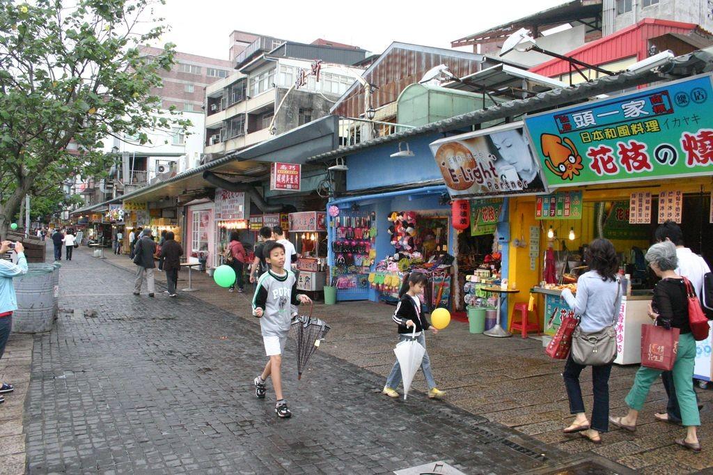 戲遊臺灣 TaiwanEnjoy: 新北市淡水老街
