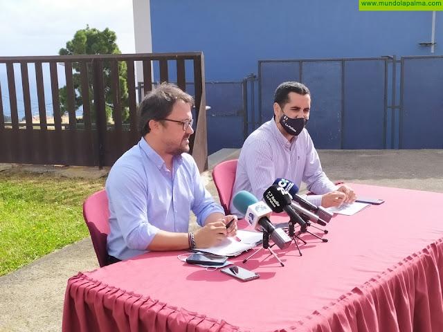 Antona y Pérez Sicilia presentan más de 300 iniciativas en el Senado en las que está muy presente La Palma
