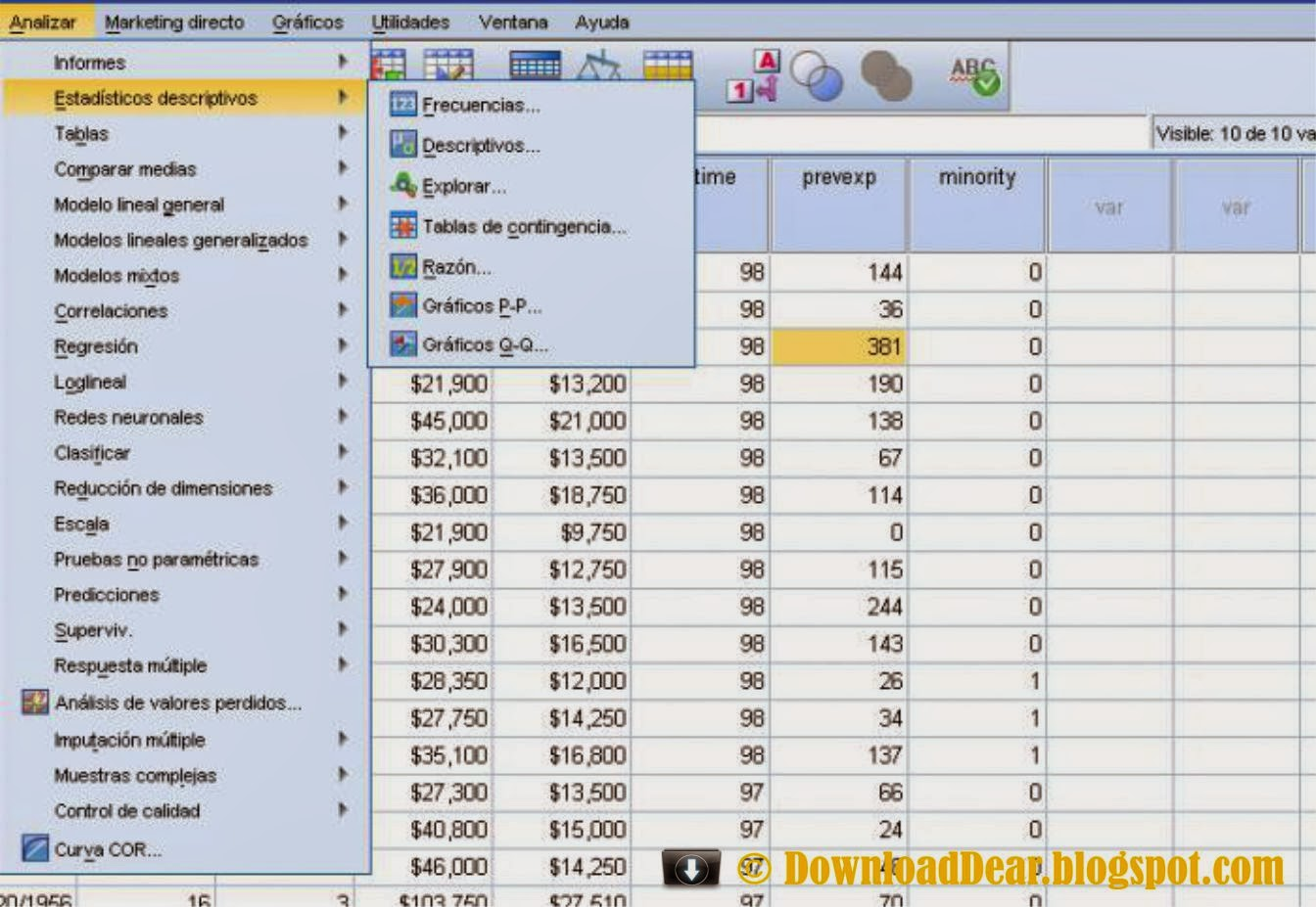 Technology Management Image: Download IBM SPSS Statistics 20 Full Free