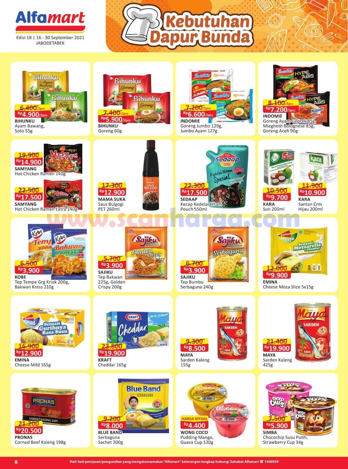 Katalog Promo Alfamart 16 - 30 September 2021 8