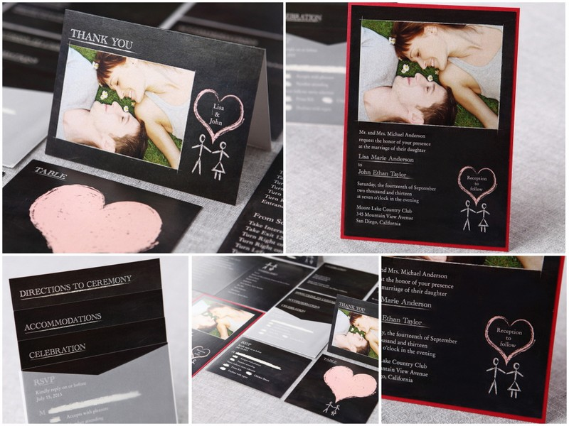 b wedding invitations discounts (15% off, free assembly & shipping,